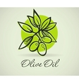 Hand-Drawing Olive vector image vector image