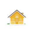 moving house icon for real estate market flat vector image