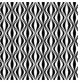 vertical waves pattern vector image