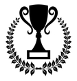 Winner cup trophy cup1 resize vector image