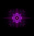 3d background wallpaper with glowing abstract vector image vector image