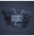 abstract color cloud vector image vector image
