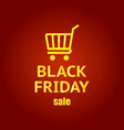 black friday banner black friday sale inscription vector image