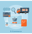 E commerce vector image