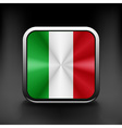 Italy icon flag national travel icon country vector image