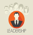 leadership1 resize vector image vector image