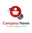Man Idea Logo vector image vector image