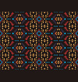 native southwest american aztec navajo seamless vector image vector image