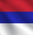 Republika Srpska flag vector image