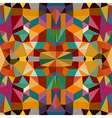 Retro triangles seamless pattern background EPS10 vector image vector image