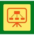 Scheme Screen Icon vector image vector image