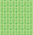 seamless pattern with christmas tree winter vector image