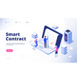 Smart contract digital signature electronic