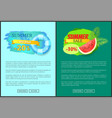 summer big sale summertime proposition for clients vector image vector image