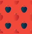 apple gradient seamless pattern vector image