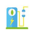 ecology renewable environment energy power plug vector image