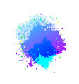 explosive artistic background vector image vector image