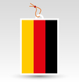 germany tag vector image vector image