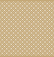 golden abstract seamless floral pattern gold and vector image vector image
