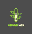 green lab logo vector image