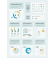 Healthcare Infographic Elements vector image