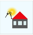 Keys of the house vector image