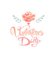 love day greeting card vector image