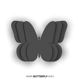 Paper butterfly design vector image vector image