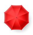 Red umbrella vector image vector image