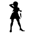 retail woman vector image vector image