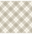 Scottish diagonal plaid vector image