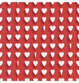 Seamless red background with paper hearts vector | Price: 1 Credit (USD $1)
