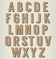 Vintage Style Alphabets Set vector image vector image