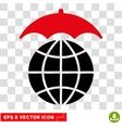 Global Umbrella Eps Icon vector image vector image