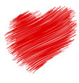 marker isolated heart vector image vector image
