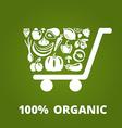 OrganicCart vector image vector image