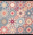 set of octagonal and square patterns vector image vector image
