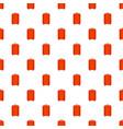 travel bag pattern seamless vector image vector image