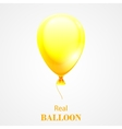 Festive Balloon isolated on white background vector image
