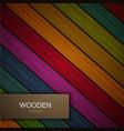 modern wooden background vector image