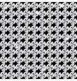 abstract beautiful black diamond seamless pattern vector image