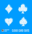card suits vector image vector image