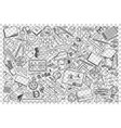 drawing doodle set vector image vector image