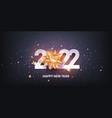 happy new year 2022 vector image