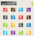 household chemicals bookmark icons vector image vector image