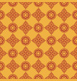 indian traditional pattern vector image vector image