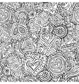 love and feeling theme seamless pattern vector image
