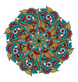 Mandala hand drawn backdrop for coloring