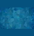 multicolor blue low poly background abstract vector image vector image