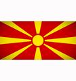 National flag macedonia